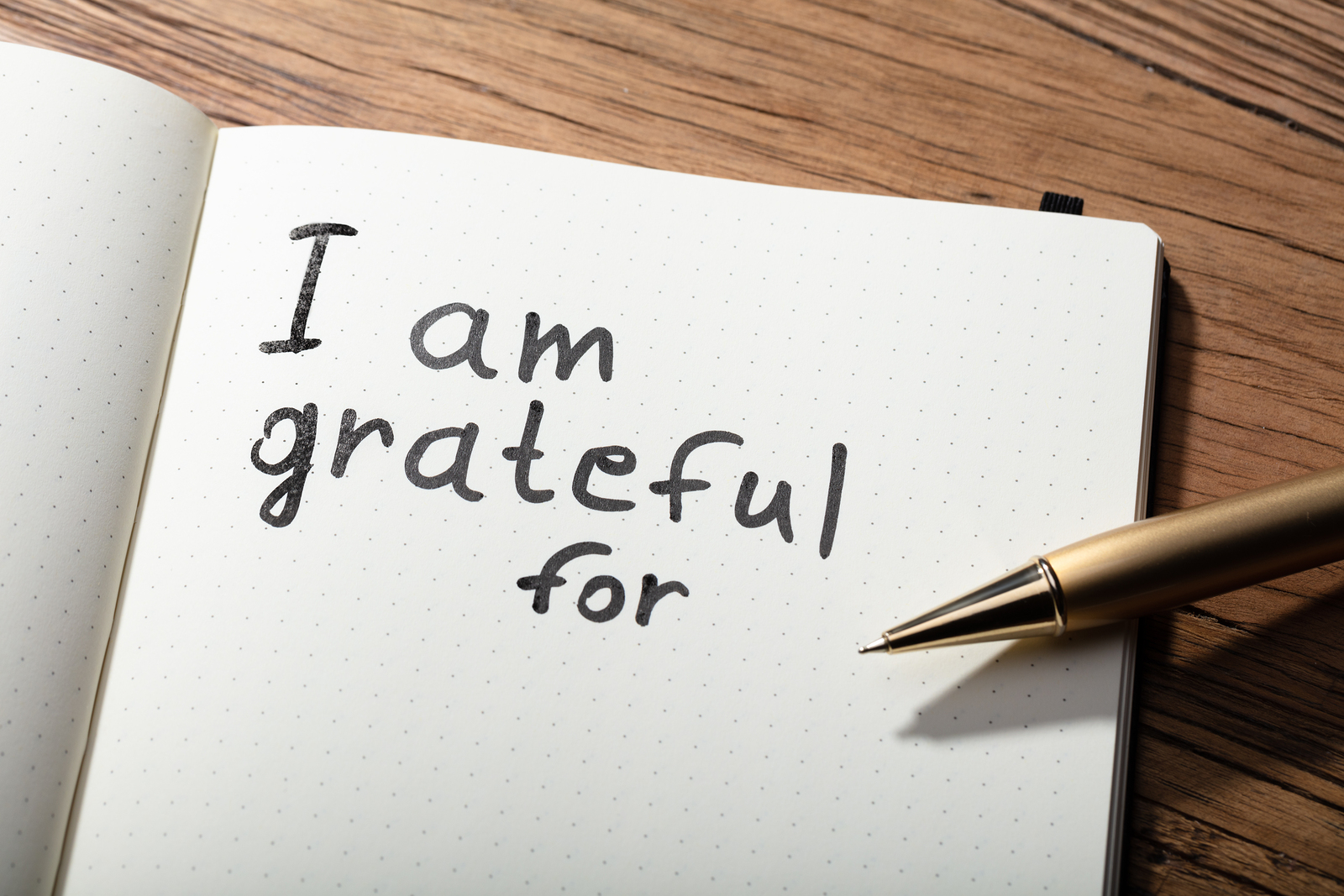 THANKING OUR WAY TO A BETTER LIFE